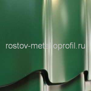 Металлочерепица МП Полиэстер 6005