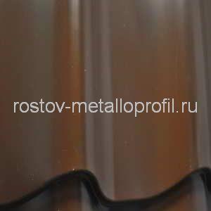 Металлочерепица МП Полиэстер 8017